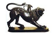Химера из Ареццо. Бронзовая статуя V в. до н. э. Археологический музей, Флоренция