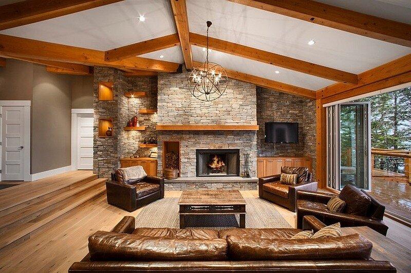 проекты интерьеров домов и коттеджей