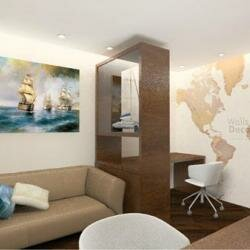Проект 4-комнатной квартиры