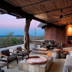 Интерьер виллы в Африканском стиле