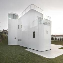 Дом с использованием энергоэффективных технологий