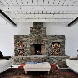 Дизайн камина в доме фото