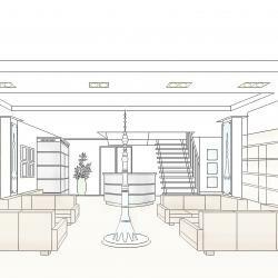 Дизайн - проект входной группы и зоны ожидания экскурсионного корпуса телебашни Останкино