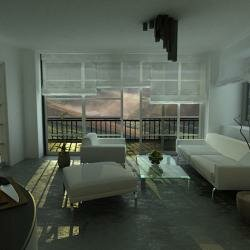 Дизайн черно-белой квартиры