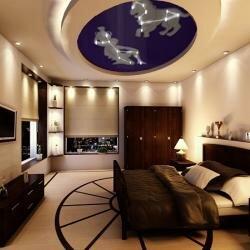 Космический интерьер квартиры