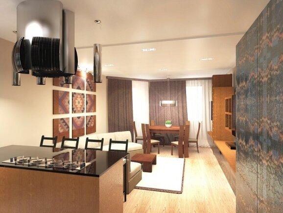 Квартира  в стиле «Арт-Деко»
