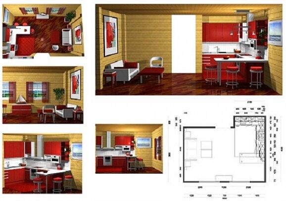 Экспресс дизайн комнаты в квартире