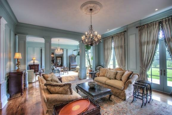 Интерьер дома в французском стиле