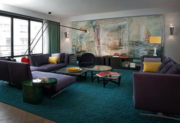 Дизайн современной квартиры в стиле конструктивизма