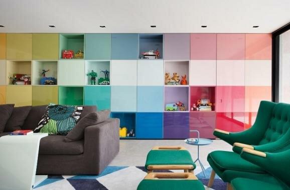 Дизайн дома в стиле Поп-Арт