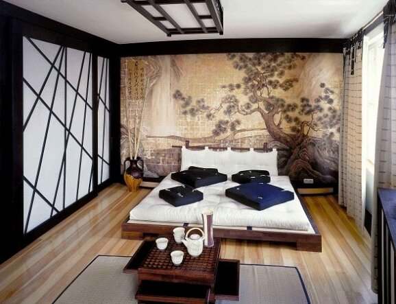 Японские мотивы в интерьере дома