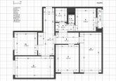 Обмерный чертеж помещения