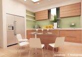 Дизайн кухни в квартире 100 кв.м.