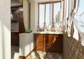 Осенний интерьер квартиры - балкон
