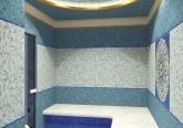 Дизайн дома в стиле Модерн - хамам