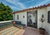 Интерьер интерьера дома в Испанском стиле