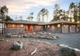 Проект дома в стиле Ранчо на берегу моря