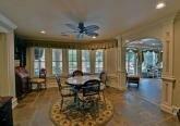Интерьер переговорной комнаты дома в дворцовом стиле