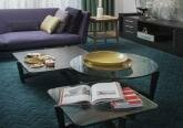 Основной цветовой тон квартиры - обилие серых оттенков
