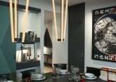 Столовая в квартире в стиле конструктивизма