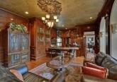 Интерьер кабинета дома в дворцовом стиле