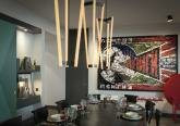Квартире в стиле конструктивизма - современная кухня