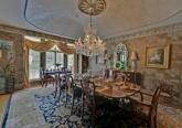 Дизайн столовой дома в дворцовом стиле