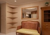 Холл в классическом стиле в 3-комнатной квартире
