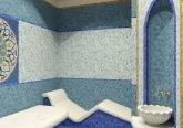 Интерьер дома в стиле Модерн - хамам