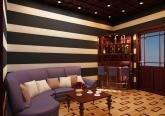 Дизайн барной комнаты в коттедже