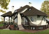 Дизайн загородного дома в стиле Модерн