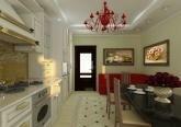 Дизайн кухни коттеджа в классическом стиле