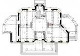 Первый этаж дома в стиле Ар-Деко (Art-deco)