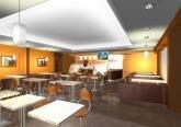 Дизайн интерьера кофейни