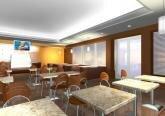 Дизайн-проект интерьера кафе