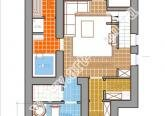 План цокольного этажа коттеджа