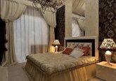 Спальня в квартире в классическом стиле