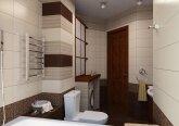 Осенний интерьер квартиры - ванная