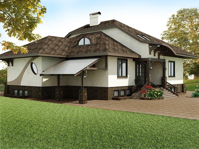 Дома модерн